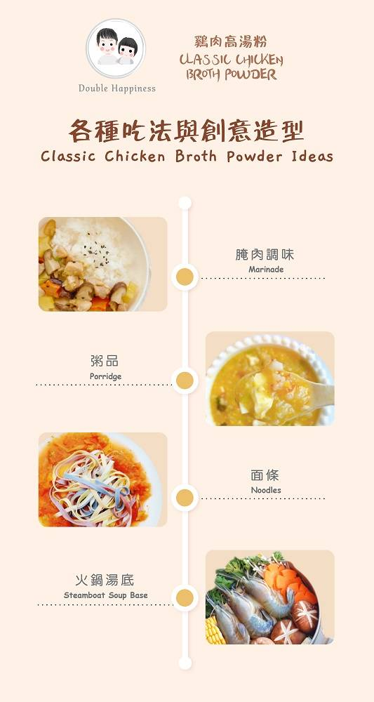Chicken broth powder cooking ideas