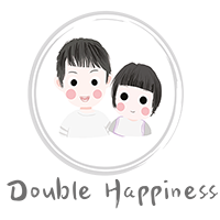 Double Happiness Asia Food Logo