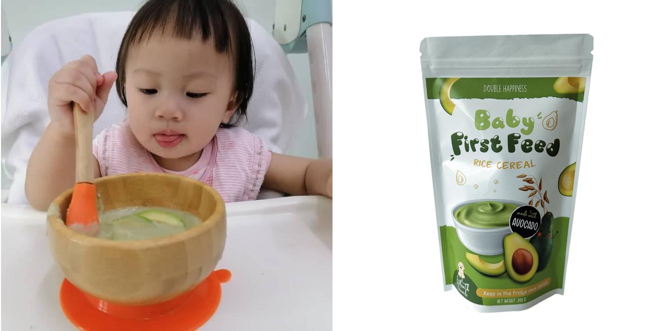 Baby Cereal Avocado